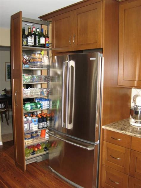 kitchen cabinet spice rack organizer refrigerator small eight great ideas for a small kitchen pantry kitchens
