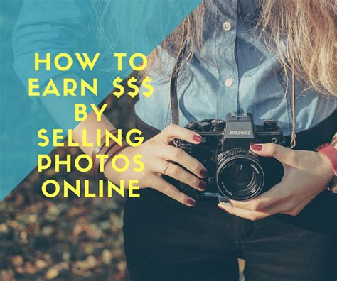 How To Make Money Selling Photographs Online - how to earn money dollars and euros by selling photos online