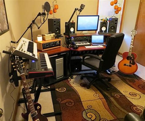 Home Recording Studio Using Mac Mac Setups Mac Pro Audio Production Studio
