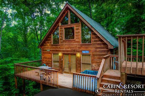Colonial Cabins Gatlinburg Tn by Happy Hiker Smoky Mountain Dreams Cabin Resort Rentals