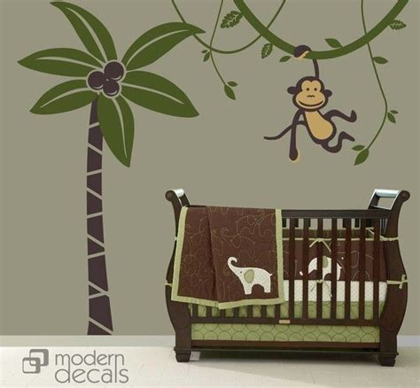 Monkey Wall Decals For Nursery 17 Best Ideas About Monkey Nursery Themes On Monkey Nursery Monkey Monkey And