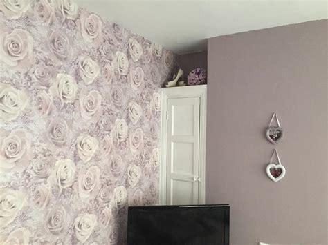 reverie mauve purple wallpaper departments diy at b q mauve wallpapers group 52