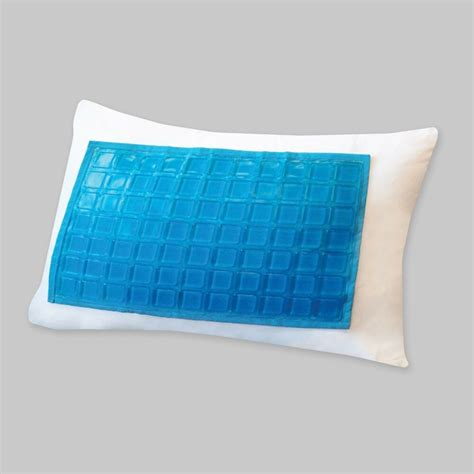 Cooling Pillow - cooling gel pillow protector encasement zippered makes