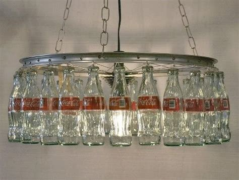 Coke Bottle Chandelier Glass Coke Bottle L Crafts Projects Diy Dads Pool Tables And Chandeliers