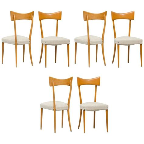 Italian Style Dining Chairs Italian Dining Chairs In The Style Of Ico Parisi Set Of Six For Sale At 1stdibs