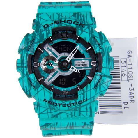 Casio G Shock Standard Digital Blue Ga 110sl 3a Intl image gallery g shok