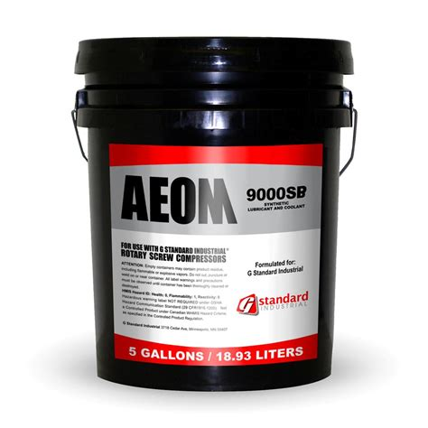 9000 aeon air compressor lubricant 9000sp aeom gd gardner coolant ebay
