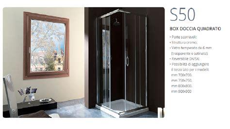 box doccia quadrato box doccia quadrato in cristallo 70x70 cromo