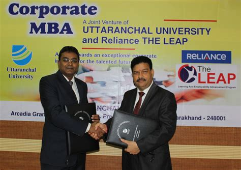 Anc Education Mba by Uttaranchal Launches Corporate Mba Program