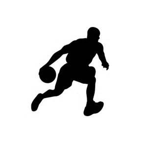 basketball silhouette basketball player silhouettes basketball decor