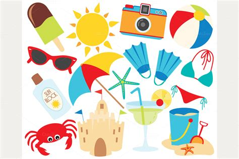 clipart estate summer vacation clipart