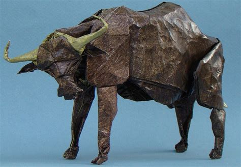 Origami Buffalo - 50 exles of origami paper