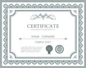 free certificate design templates 10 sets of free certificate design templates designfreebies
