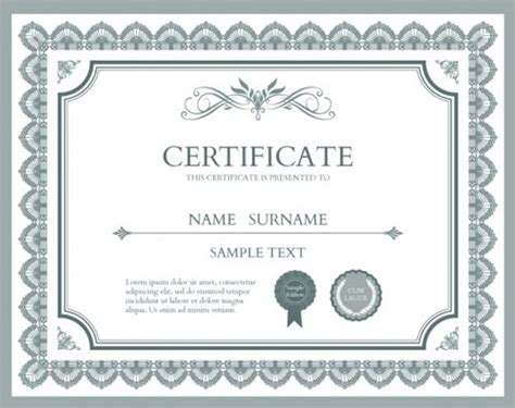 10 Sets Of Free Certificate Design Templates Designfreebies Free Diploma Templates