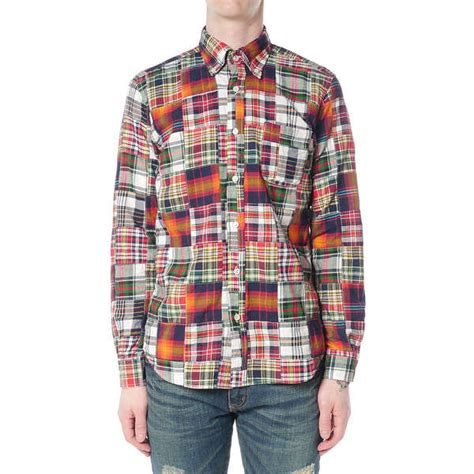 Patchwork Shirt - luxurious patchwork shirts patchwork shirts