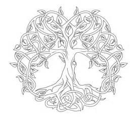 disegno albero della vita celtico da colorare disegni da colorare stampare gratis