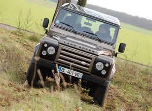 Jeep Vs Land Rover Essai Comparatif Jeep Wrangler Vs Land Rover Defender