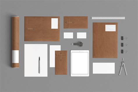 designtaxi mockup 2 stationery mock up kraft paper product mockups on