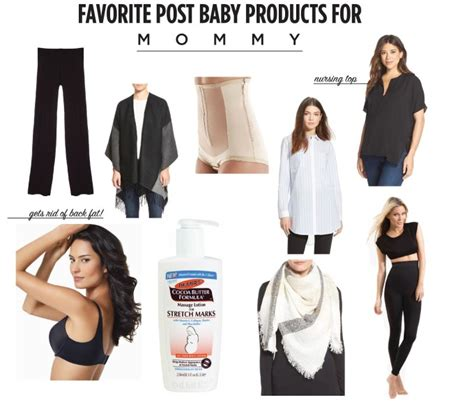 favorite post baby products to help your figure fleurdille