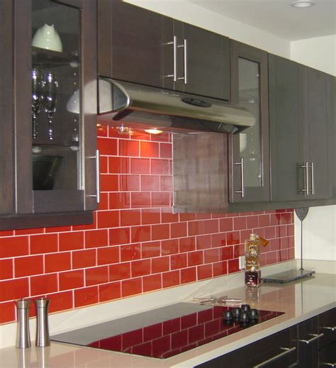 red kitchen backsplash ideas kitchen red kitchen backsplash ideas red subway tiles