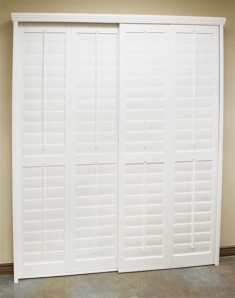 Sliding Plantation Shutters For Patio Doors Plantation Shutters For Sliding Glass Doors Glorema