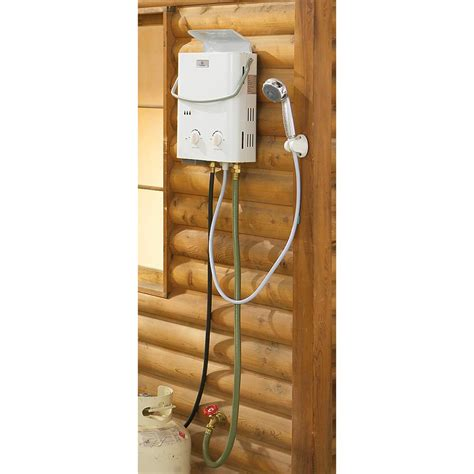 Eccotemp L5 Portable Tankless Water Heater And Outdoor Shower by Eccotemp L5 Portable Outdoor Tankless Water Heater