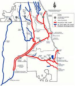 Chicago Underground Tunnels Map by What A Massive Flood Does To Chicago S Infrastructure