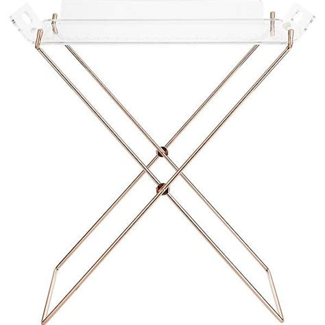 Acrylic Clear Tray Table