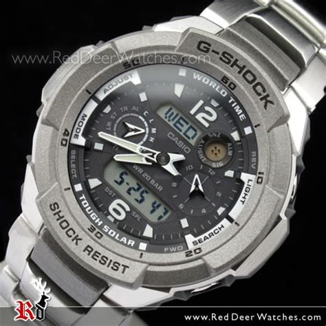 Gshock Time buy casio g shock gravity defier tough solar world time g 1250d 1a g1250d buy watches