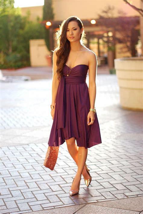 gold dress purple shoes dress ideas