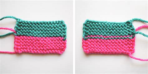 how to change colors when knitting in the garter stitch free knitting tutorial on craftsy
