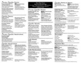 panera printable menu mybissim com
