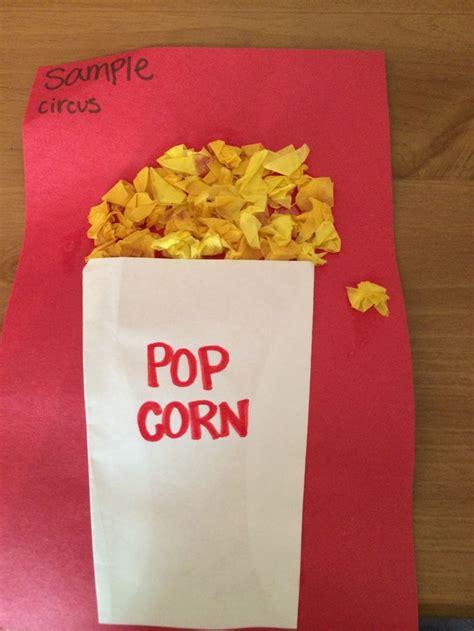 popcorn crafts for best 25 popcorn crafts ideas on