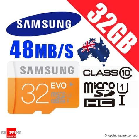 Samsung Sdhc Evo Uhs 1 Class 10 80mbs samsung 32gb evo uhs i micro sdhc memory card grade 1