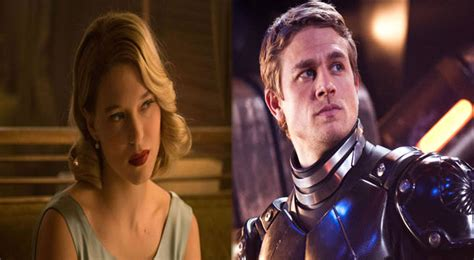 lea seydoux new movie charlie hunnam lea seydoux cast in new film by director