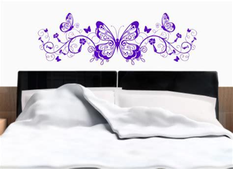 butterfly headboard butterfly headboard grafix wall art