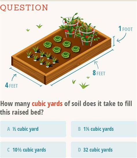 Raised Bed Soil Calculator by 43 Best Images About In The Garden On Gardens