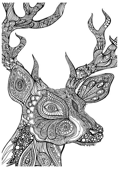 Grown Up Coloring Pages Some Mandala Animals Etc Free Grown Up Coloring Pages