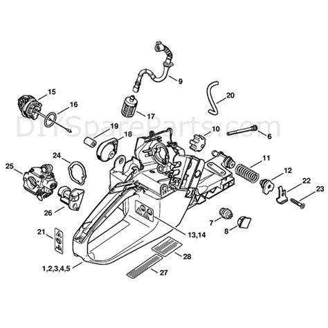 stihl ms 361 parts diagram stihl ms 361 chainsaw ms361 c q parts diagram tank housing