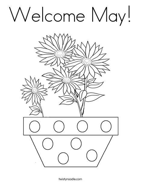 flowers of the month coloring pages 1000 images about may day activities on pinterest