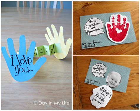 Valentine Gift Card Ideas - valentine s day handprint craft card ideas crafty morning