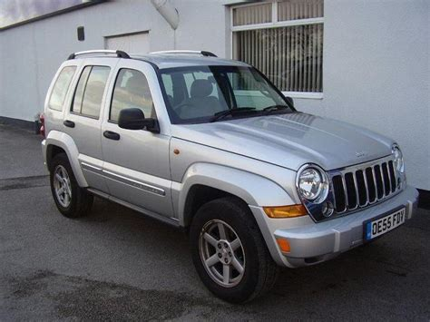 Used Jeep Cheroke Used Jeep 2006 Diesel 2 8 Crd Limited 5dr 4x4