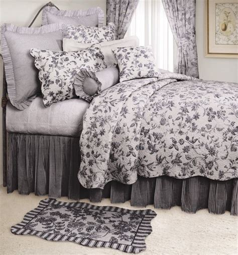 black toile bedding black and white toile bedspreads or quilts pictures to pin