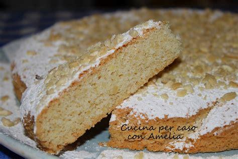 cucina semplice torta di mandorle ricetta dolce semplice cucina per