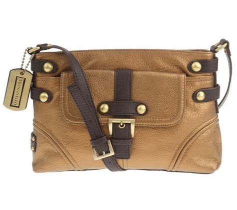 Tignanellos Eastwest Shopper From The Nantucket Collection by Tignanello Pebble Leather East West Crossbody Bag Page 1