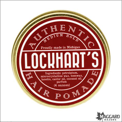 Pomade Medium Hold 4 Oz lockhart s medium hold hair pomade 4oz maggard razors