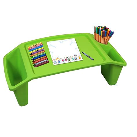 best lap desk for coloring basicwise green kids lap desk tray portable activity