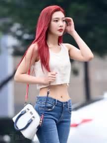 Red Velvet's Joy Reveals Her Incredible Petite Figure In ... Hyuna Legs