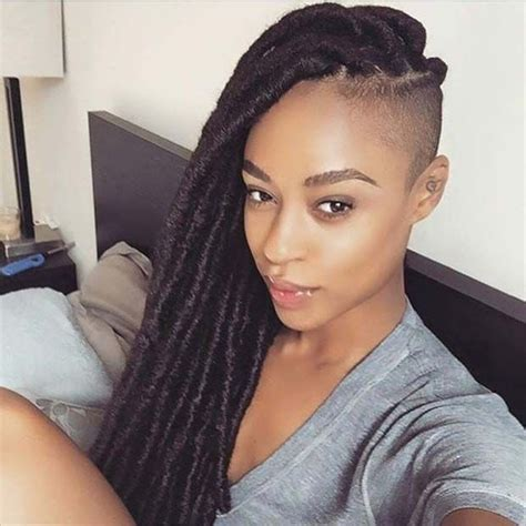 parting hair when braiding a ball best 25 faux side shave ideas on pinterest tight side