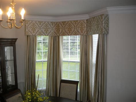 cornice window cornice board in bay window with matching panels s
